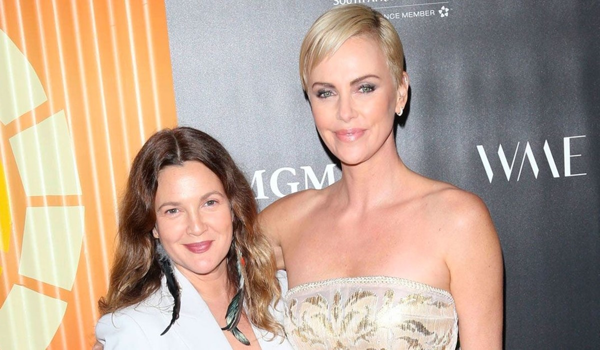 Charlize Theron And Drew Barrymore